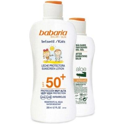 Babaria Pack Babaria Spray Protector Solar Kids SPF50