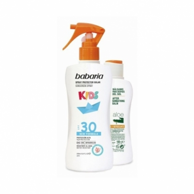 Babaria Pack Babaria Spray Protector Solar Infantil SPF30 y After Sun