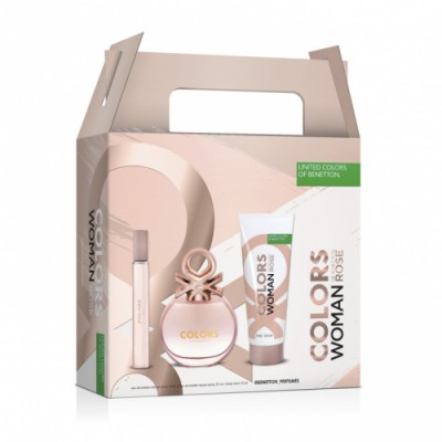 Benetton Estuche Benetton Colors Rose