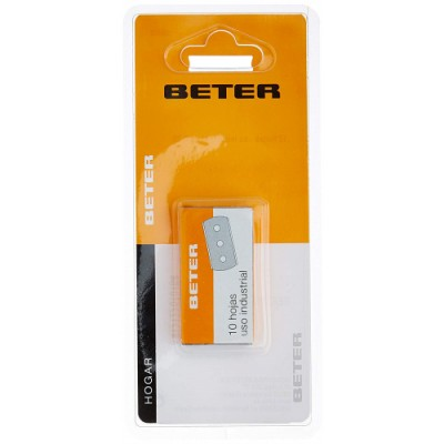 Beter Hoja industrial Blister Pack 10 Unidades