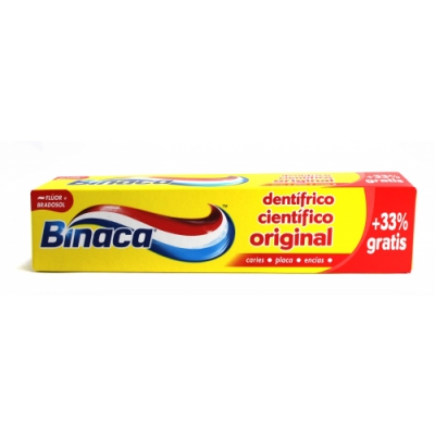 Binaca Binaca Pasta Amarillo Binaca
