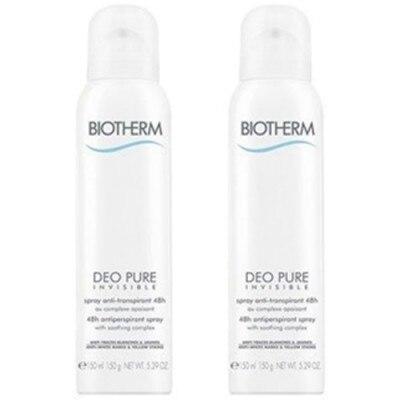 Biotherm Pack Desodorante Pure Invisible Spray 48 h