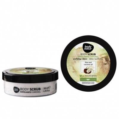 Body Natur Body Natur Exfoliante Corporal Arroz y Aceite de Coco