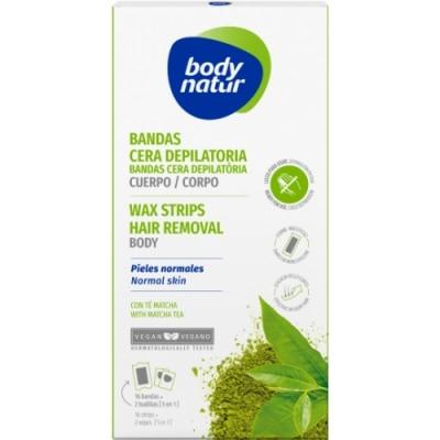 Body Natur Body Natur Crema Depilatoria Hidratante Corporal Con Té Matcha