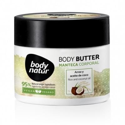 Body Natur Body Natur Manteca Corporal Arroz y Aceite de Coco