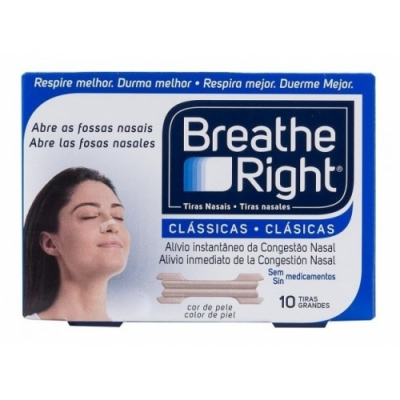 Breathe Breathe Right Tiras Nasales Clásicas