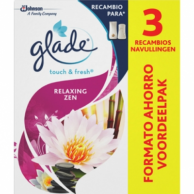 Glade Glade Touch and Fresh - Pack Recambio Zen