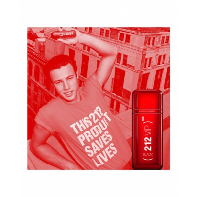 Carolina Herrera 212 Vip Black Red Eau de Parfum Edición Limitada