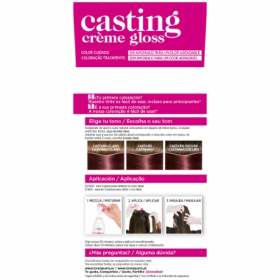 Casting Tinte Capilar N 426 Castaño Rojizo