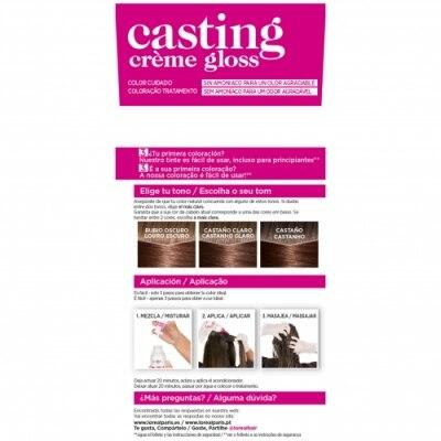 Casting Tinte Casting Creme De L'oreal 503 Gold Choco