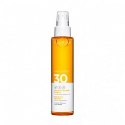 Clarins Clarins Aceite Solar Proteccion SPF30 Cuerpo Cabello Seco