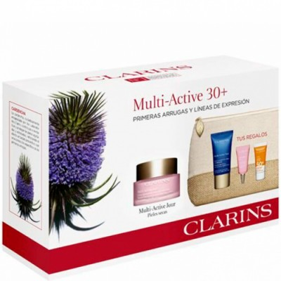 Clarins Estuche Multi Active 30+ Primeras Arrugas Piel Seca