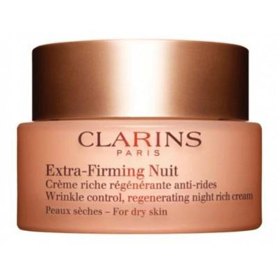 Clarins Extra Firming Nuit regenerante Piel Seca