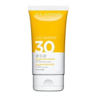 Clarins Gel-Aceite Solar para el cuerpo UVA/UVB 30