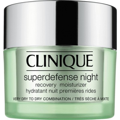Clinique Hidratante Noche Recuperación Celular Superdefense Night Piel Seca y Mixta