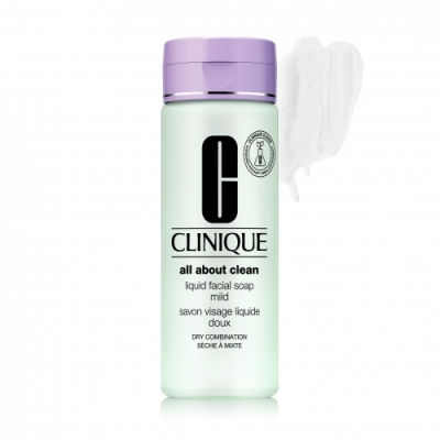 Clinique Liquid Facial Soap Mild - Jabón Facial Suave