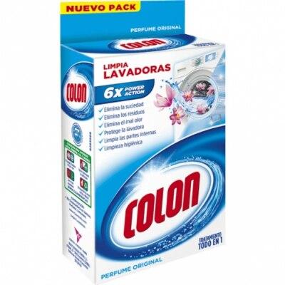 Colon Limpia Lavadoras Perfume Original