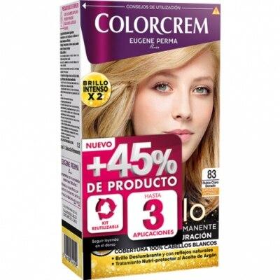 Colorcrem Colocrem Tinte Coloración Permanente Color y Brillo Rubio Claro Dorado nº 83