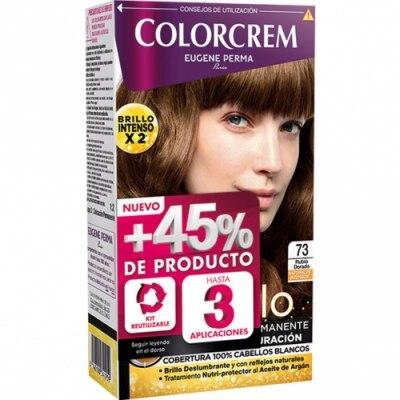 Colorcrem Colorcrem Tinte Coloración Permanente Color y Brillo Rubio Dorado nº 73