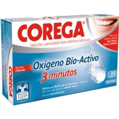 Corega Corega Oxígeno Bio-Activo Tabletas 3 Minutos