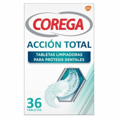Corega Corega Acción Total Tabletas para Prótesis