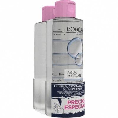 Dermo Expertise Pack Agua Micelar Desmaquillante Suave