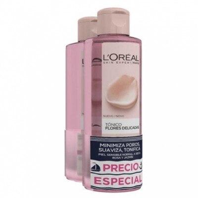 Dermo Expertise Pack Flores Delicadas Tonico Rosa Jazmin