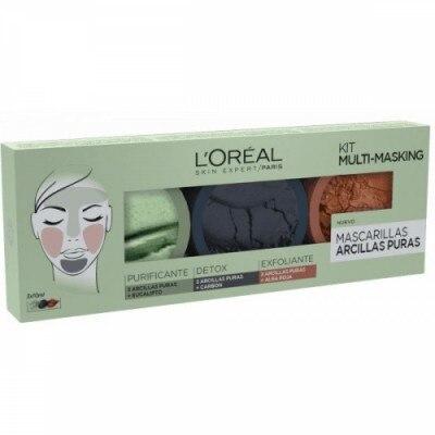 Dermo Expertise Pack Multimasking Arcillas Puras L´Oréal