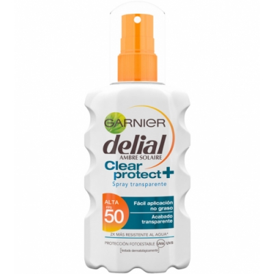 Delial Bronceador Clear And Protect Spray SPF50
