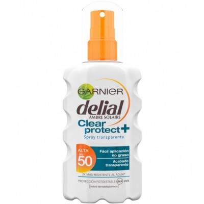 Delial Delial Bronceador Clear and Protect Spray SPF50
