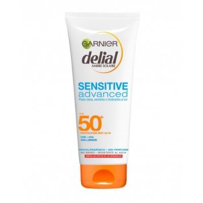 Delial Bronceador Leche Sensitive SPF50+