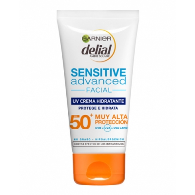 Delial Bronceador Sensitive Advanced SPF50+