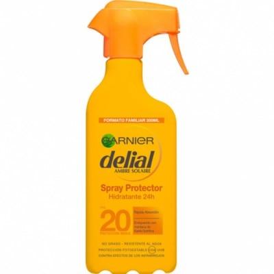 Delial Delial Spray Protector Hidratante Resistente al Agua FPS-20