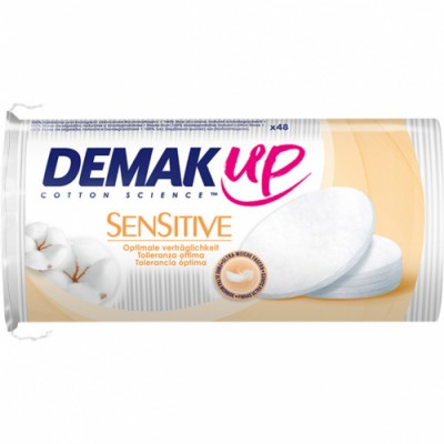 Demak´up Algodón Desmaquillador Sensitive Oval