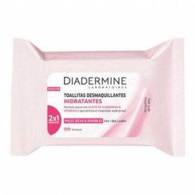 Diadermine Toallitas Desmaquillantes Hidratantes
