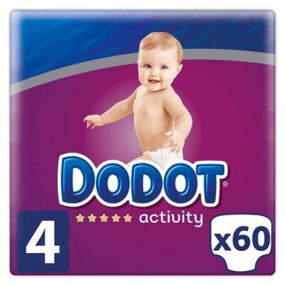 Dodot Activity Pañales Talla 4 De 9 A 14 KG