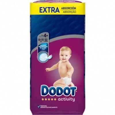 Dodot Dodot Activity Extra T4 De 11 A 16 kg 52 Unidades