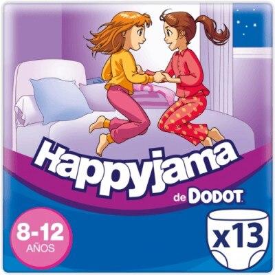 Dodot Pañales Happyjama Niña 8-12 Años 13 Unidades