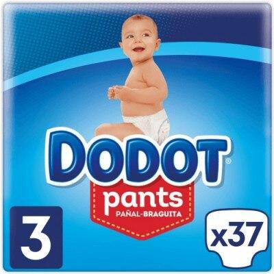 Dodot Pañales Pants T3 37 Unidades