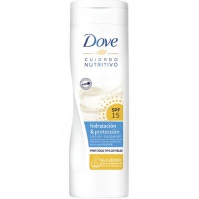 Dove Dove Loción Corporal Hidratación & Protección con SPF 15