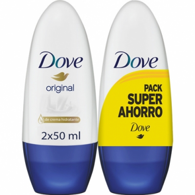 Dove Dove Pack Desodorante Roll On Original