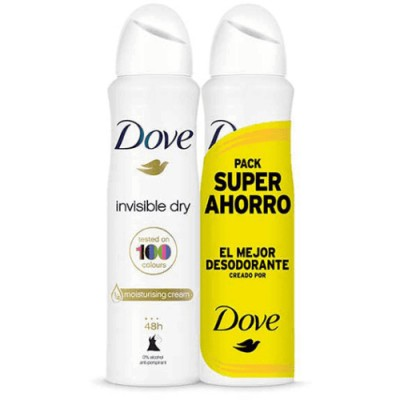 Dove Pack Desodorante Dove Spray Invisible