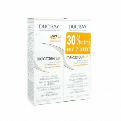 Ducray Pack Ducray Melascreen UV Crema Ligera SPF 50+