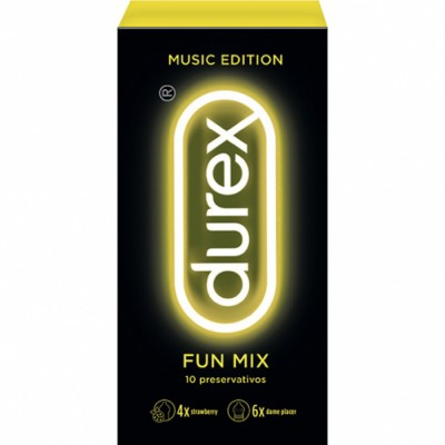 Durex Profilacticos Durex Music Fun Mix