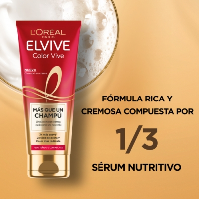 Elvive L'Oréal Paris Elvive Color Vive Más Que un Champú