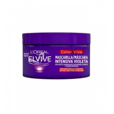 Elvive Loreal Paris Elvive Mascarilla Intensiva Violeta