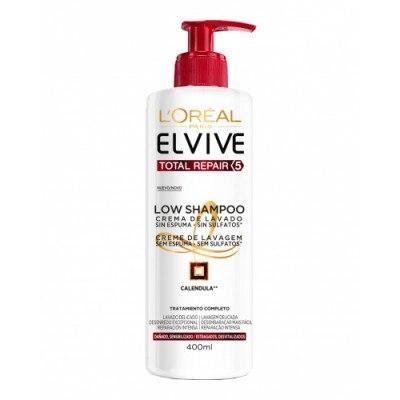 Elvive Low Shampoo Crema de lavado Total Repair 5