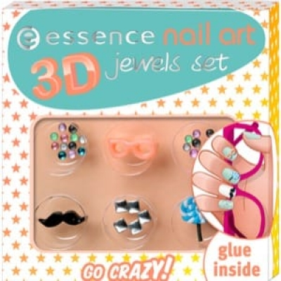 Essence Go Crazy Nail Art 3D Jewels
