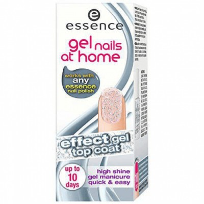 Essence Gel Nails At Home Effect Gel Top Coat