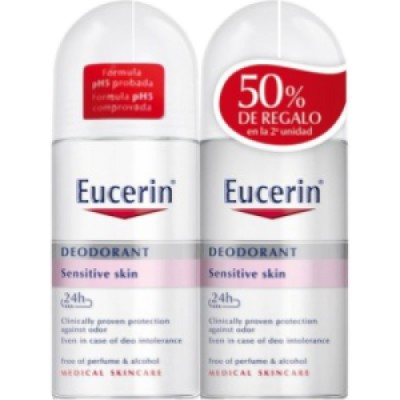 Eucerin Eucerin Deo Roll On Duplo